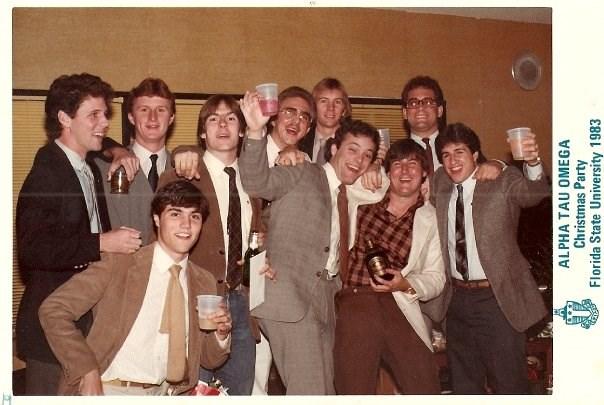 1983 ATO Christmas Party